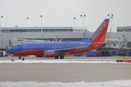 uhfxさんが、シカゴ・ミッドウェー国際空港で撮影したサウスウェスト航空 737-7H4の航空フォト(飛行機 写真・画像)
