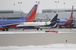 uhfxさんが、シカゴ・ミッドウェー国際空港で撮影したアメリカ個人所有 Falcon 2000EXの航空フォト(飛行機 写真・画像)