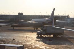 uhfxさんが、オヘア国際空港で撮影したメサ・エアラインズ CL-600-2C10 Regional Jet CRJ-701ERの航空フォト(飛行機 写真・画像)