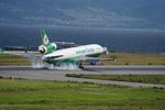ヒデキチさんが、関西国際空港で撮影したエバー航空 MD-11Fの航空フォト(写真)