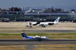 T.Sazenさんが、羽田空港で撮影したエアーニッポンネットワーク DHC-8-314Q Dash 8の航空フォト(飛行機 写真・画像)