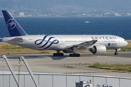 ヒデキチさんが、関西国際空港で撮影した中国南方航空 777-21B/ERの航空フォト(飛行機 写真・画像)
