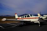 チャーリーマイクさんが、小月航空基地で撮影した日本個人所有 A36 Bonanza 36の航空フォト(飛行機 写真・画像)
