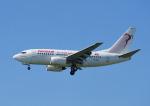じーく。さんが、トゥールーズ・ブラニャック空港で撮影したチュニスエア 737-6H3の航空フォト(飛行機 写真・画像)