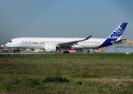 じーく。さんが、トゥールーズ・ブラニャック空港で撮影したエアバス A350-941XWBの航空フォト(写真)