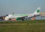 じーく。さんが、トゥールーズ・ブラニャック空港で撮影したゲルマニア A319-112の航空フォト(写真)