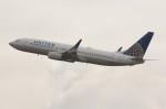 しんさんが、関西国際空港で撮影したユナイテッド航空 737-824の航空フォト(写真)