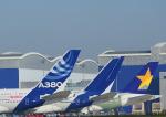 じーく。さんが、トゥールーズ・ブラニャック空港で撮影したスカイマーク A380-841の航空フォト(写真)
