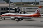 もんきぃさんが、那覇空港で撮影した日本トランスオーシャン航空 737-446の航空フォト(写真)