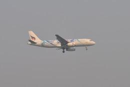 ガオラオさんが、チェンライ空港で撮影したバンコクエアウェイズ A320-232の航空フォト(飛行機 写真・画像)