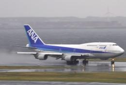 Butaさんが、羽田空港で撮影した全日空 747-481(D)の航空フォト(飛行機 写真・画像)