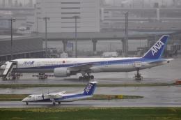 Butaさんが、羽田空港で撮影したANAウイングス DHC-8-314Q Dash 8の航空フォト(飛行機 写真・画像)