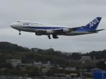 シフォンさんが、福岡空港で撮影した全日空 747-481(D)の航空フォト(写真)