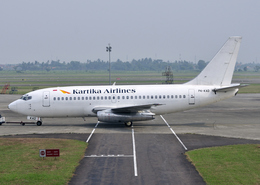 RA-86141さんが、スカルノハッタ国際空港で撮影したカーティカ・エアラインズ 737-284/Advの航空フォト(飛行機 写真・画像)