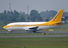 RA-86141さんが、スカルノハッタ国際空港で撮影したエアファスト インドネシア 737-27A/Advの航空フォト(飛行機 写真・画像)