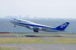 このえさんが、羽田空港で撮影した全日空 747-481(D)の航空フォト(写真)