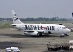 RA-86141さんが、スカルノハッタ国際空港で撮影したバタビア航空 737-2T5/Advの航空フォト(写真)