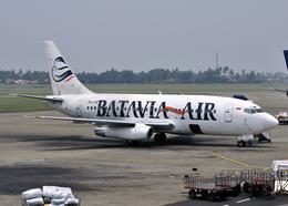 RA-86141さんが、スカルノハッタ国際空港で撮影したバタビア航空 737-2T5/Advの航空フォト(飛行機 写真・画像)