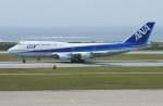 masa707さんが、那覇空港で撮影した全日空 747-481(D)の航空フォト(写真)