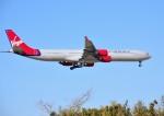 mojioさんが、成田国際空港で撮影したヴァージン・アトランティック航空 A340-642の航空フォト(飛行機 写真・画像)