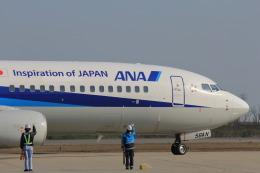 MIL26Tさんが、新潟空港で撮影した全日空 737-881の航空フォト(飛行機 写真・画像)