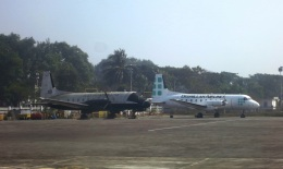 メヘンサルの猿さんが、コックスバザール空港で撮影したビスミッラー・エアラインズ - Bismillah Airlines [5Z/BML]  BAe-748の航空フォト(飛行機 写真・画像)