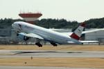 アイスコーヒーさんが、成田国際空港で撮影したオーストリア航空 777-2Z9/ERの航空フォト(飛行機 写真・画像)