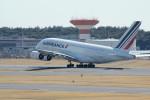 アイスコーヒーさんが、成田国際空港で撮影したエールフランス航空 A380-861の航空フォト(飛行機 写真・画像)