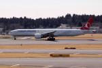 アイスコーヒーさんが、成田国際空港で撮影したターキッシュ・エアラインズ 777-3F2/ERの航空フォト(写真)