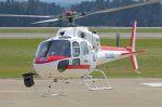 Cスマイルさんが、花巻空港で撮影した東邦航空 AS355F2 Ecureuil 2の航空フォト(飛行機 写真・画像)