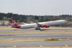 ANA744Foreverさんが、成田国際空港で撮影したヴァージン・アトランティック航空 A340-642の航空フォト(写真)