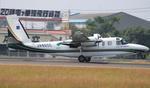 Kuuさんが、鹿児島空港で撮影したアジア航測 695 Jetprop 980の航空フォト(飛行機 写真・画像)