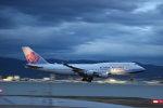 RAOUさんが、関西国際空港で撮影したチャイナエアライン 747-409の航空フォト(写真)