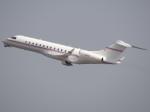 kixmeister弐さんが、関西国際空港で撮影したフェデックス・エクスプレス BD-700-1A10 Global Expressの航空フォト(写真)