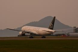 アップルさんが、松山空港で撮影した全日空 777-281の航空フォト(写真)