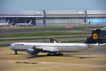 パンダさんが、羽田空港で撮影したルフトハンザドイツ航空 A340-642の航空フォト(写真)