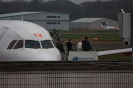 Leporelloさんが、ニューカッスル空港で撮影したイージージェット A320-214の航空フォト(飛行機 写真・画像)