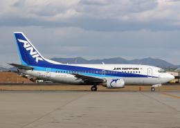 Bokuranさんが、名古屋飛行場で撮影したエアーニッポン 737-5L9の航空フォト(写真)