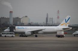 JAA DC-8さんが、伊丹空港で撮影したバニラエア A320-211の航空フォト(飛行機 写真・画像)