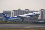 しんさんが、伊丹空港で撮影した全日空 777-281/ERの航空フォト(写真)