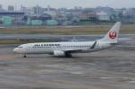 しんさんが、伊丹空港で撮影したJALエクスプレス 737-846の航空フォト(写真)