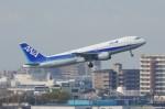 しんさんが、伊丹空港で撮影した全日空 A320-211の航空フォト(写真)