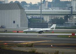 T.Sazenさんが、伊丹空港で撮影した中日本航空 560 Citation Vの航空フォト(写真)
