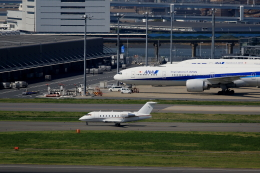 T.Sazenさんが、羽田空港で撮影した-- CL-600-2B16 Challenger 604の航空フォト(飛行機 写真・画像)