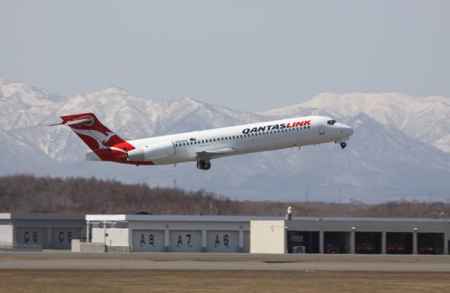 カンタスリンク Boeing 717 N928...