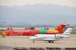 yuuka no kazeさんが、関西国際空港で撮影したアエロ・トイ・ストア CL-600-2B16 Challenger 601-3Rの航空フォト(写真)