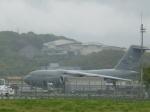 わたくんさんが、福岡空港で撮影したアメリカ空軍 C-17A Globemaster IIIの航空フォト(写真)