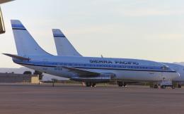 TKBKさんが、ツーソン国際空港で撮影したシエラ・パシフィック航空 737-2Y5/Advの航空フォト(飛行機 写真・画像)