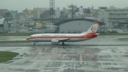 たんたんさんが、福岡空港で撮影した南西航空 737-2Q3/Advの航空フォト(飛行機 写真・画像)