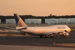 アイスコーヒーさんが、成田国際空港で撮影したユナイテッド航空 747-422の航空フォト(写真)